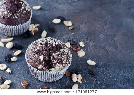 Homemade Chokolate Capcakes