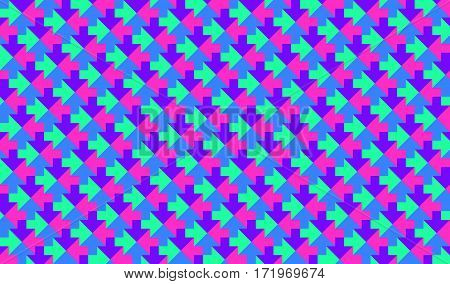 abstract low poly mosaic colorful arrows texture background