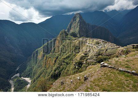 Machu Picchu Unesco World Heritage site and New 7 Wonder of the world