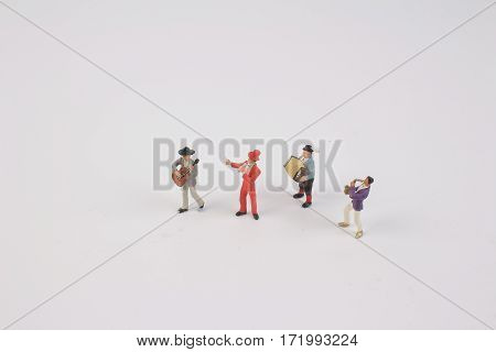Fun Of Figure In Miniature World