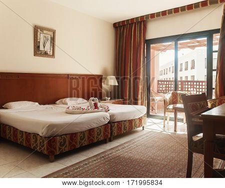 Interior rooms in Hurghada. Egypt.