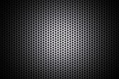 Light glow on grill pattern poster