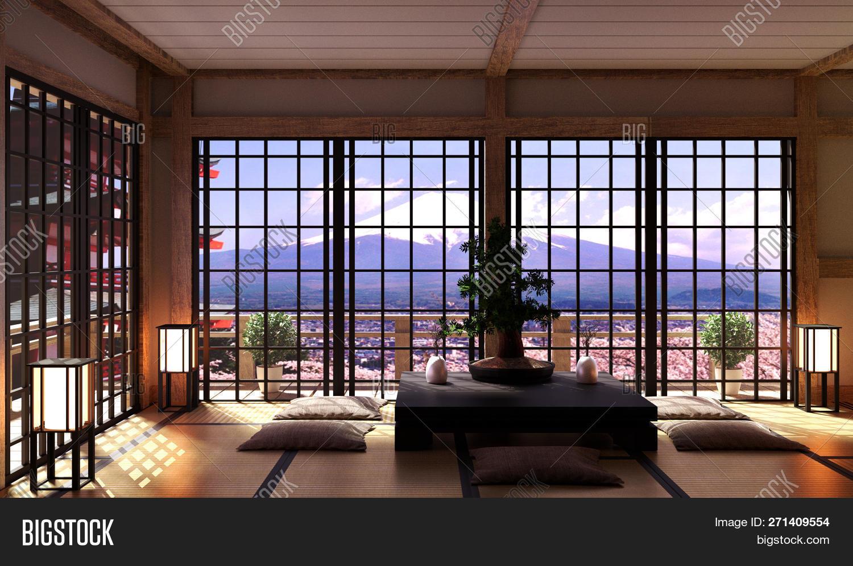 Japanese Living Room Image & Photo (Free Trial) | Bigstock