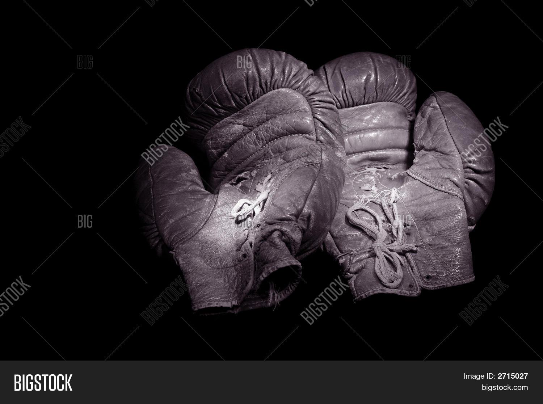 Vintage Boxing Gloves Image & Photo (Free Trial)   Bigstock