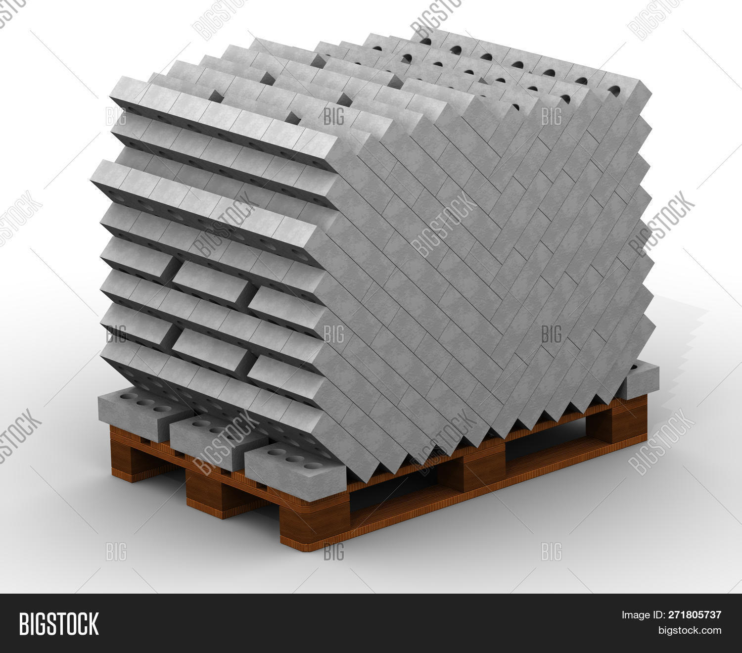 Pallet Full Silicate Image & Photo (Free Trial) | Bigstock