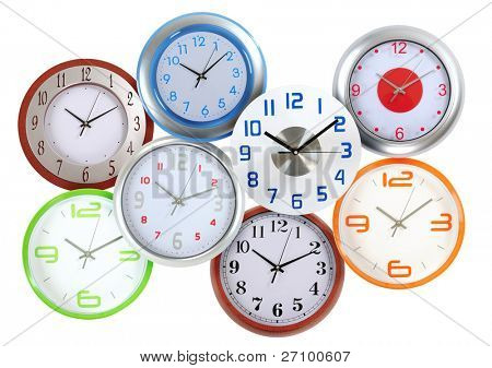 Wall clock collection.