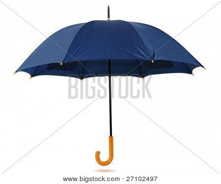 Umbrella isolated over white.