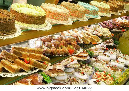 Fresh Cake Display