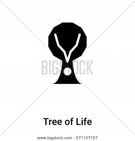 Tree of Life icon in trendy design style. Tree of Life icon isolated on white background. Tree of Life vector icon simple and modern flat symbol for web site, mobile, logo, app, UI. Tree of Life icon vector illustration, EPS10. poster