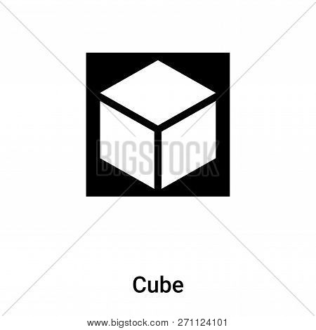 Cube Icon Trendy Vector & Photo (Free Trial) | Bigstock
