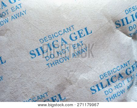 Packet Of Silica Gel Desiccant