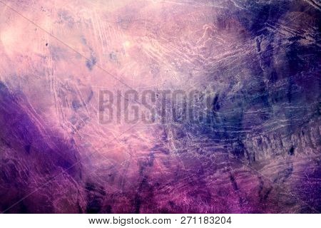 Artistic Abstract Multicolored Smooth Smoky Galactic Texture Background