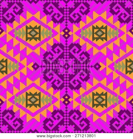 Ethnic Textile Pattern