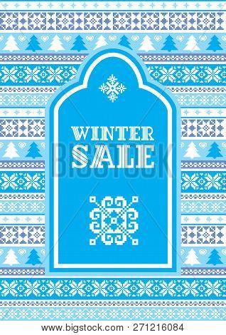 Winter Sale Background