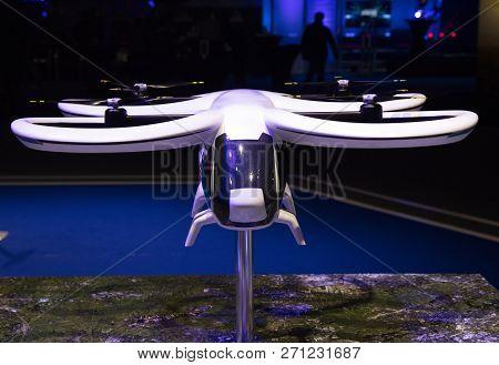 Drone In The Expo Centre Rai In Amsterdam