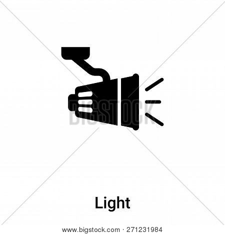 Light Icon In Trendy Design Style. Light Icon Isolated On White Background. Light Vector Icon Simple