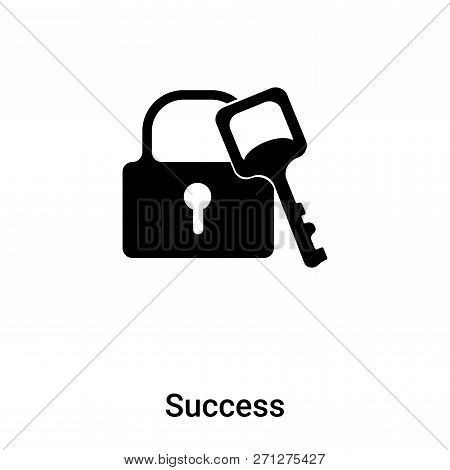 Success Icon In Trendy Design Style. Success Icon Isolated On White Background. Success Vector Icon