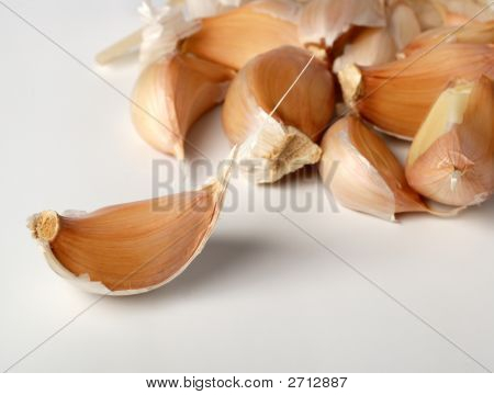 Background Bulbil Garlic