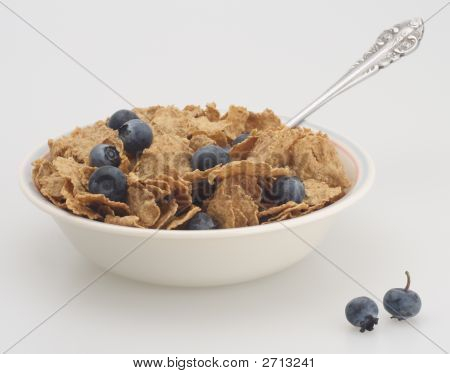 Cereal And Blueberry