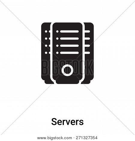 Servers Icon Trendy Vector & Photo (Free Trial)   Bigstock