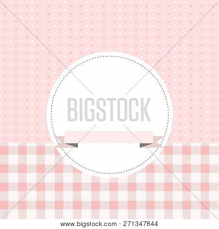 Vector Card Or Invitation For Baby Shower