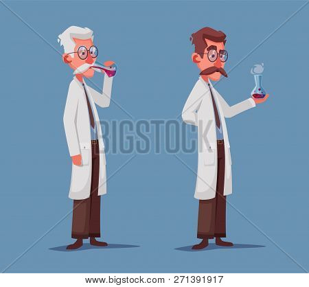 crazy old scientist vector photo free trial bigstock crazy old scientist vector photo
