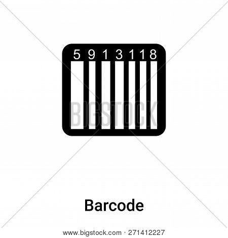 Barcode Icon Trendy Vector & Photo (Free Trial) | Bigstock