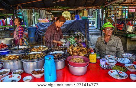 Local Restaurant In Taunggyi, Myanmar