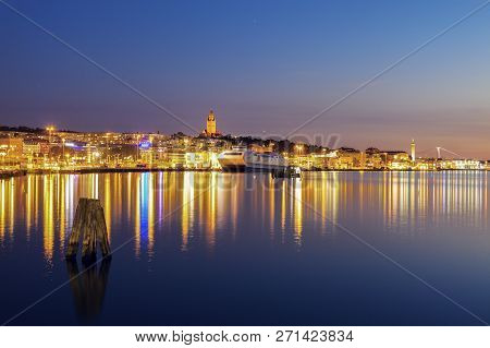Panorama Of Gothenburg. Gothenburg, Vasstergotland And Bohuslan, Sweden.