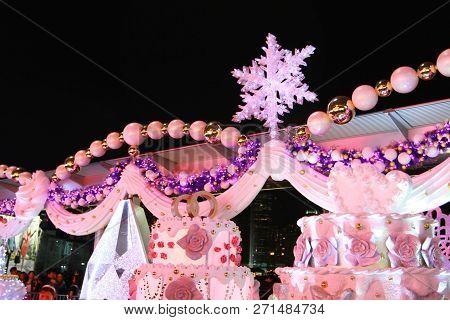 Christmas Decorations At Tsim Sha Tsui, Kowloon