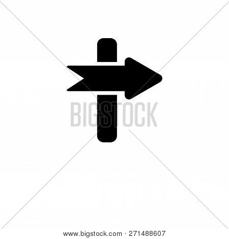 Sign Icon In Trendy Design Style. Sign Icon Isolated On White Background. Sign Vector Icon Simple An