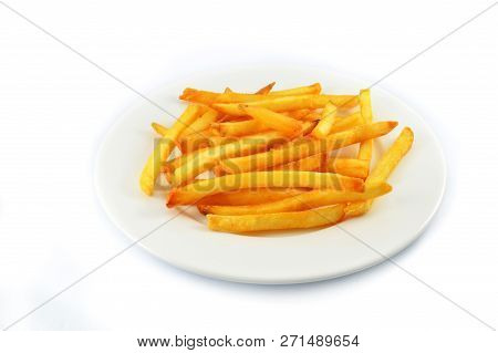 French Fries Isolated / Fries Potato French Fries For Snack