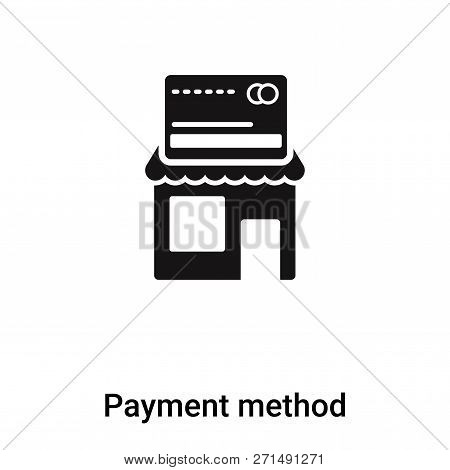 Payment Method Icon In Trendy Design Style. Payment Method Icon Isolated On White Background. Paymen