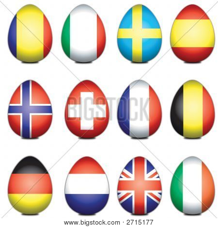 European Easter Eggs