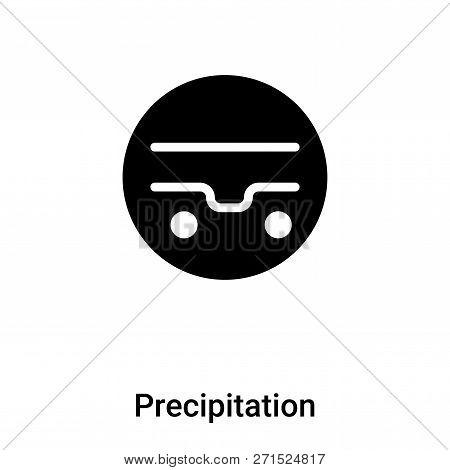Precipitation Icon In Trendy Design Style. Precipitation Icon Isolated On White Background. Precipit