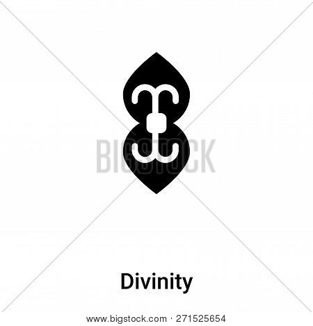 Divinity Icon In Trendy Design Style. Divinity Icon Isolated On White Background. Divinity Vector Ic