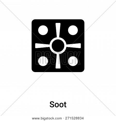 Soot Icon In Trendy Design Style. Soot Icon Isolated On White Background. Soot Vector Icon Simple An