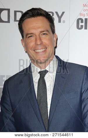 Ed Helms at the 32nd American Cinematheque Award Presentation Honoring Bradley Cooper held at the Beverly Hilton Hotel in Beverly Hills, USA on November 29, 2018.