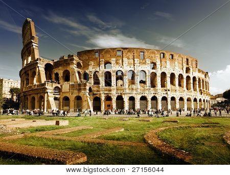 Coliseo en Roma, Italia