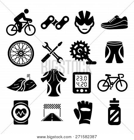 Set Bicycle Vector Vector Photo Free Trial Bigstock