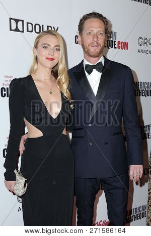 LOS ANGELES - NOV 29:  Stephanie Tarling, Brian Klugman at the 32nd American Cinematheque Award at the Beverly Hilton Hotel on November 29, 2018 in Beverly Hills, CA