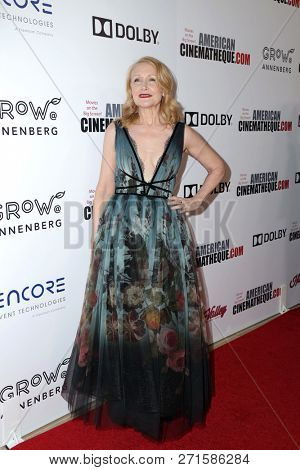 LOS ANGELES - NOV 29:  Patricia Clarkson at the 32nd American Cinematheque Award at the Beverly Hilton Hotel on November 29, 2018 in Beverly Hills, CA