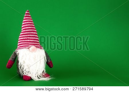 An image of a Christmas gnome with white beard