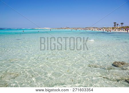 Ses Illetes In Formentera Is A Real Paradise Beach In Spain.