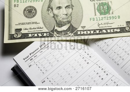 Dollar  And 2009 Year Planner