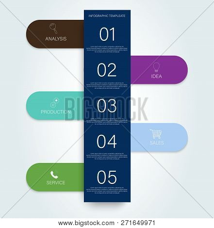 Timeline Infogrfphic, Great Design For Any Purposes. Business Concept Timeline. Business Timeline El