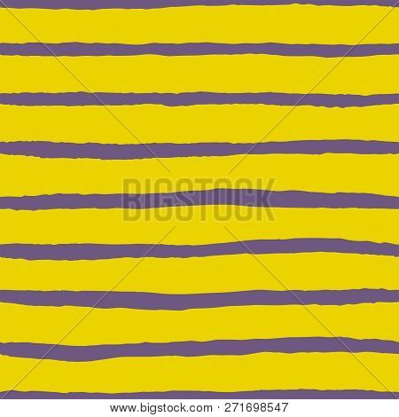 Tile Vector Pattern With Yellow And Violet Stripes Background