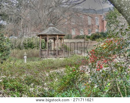Historical Buildings And Gardens At The Southeastern Baptist Theological Seminary In Wake Forest