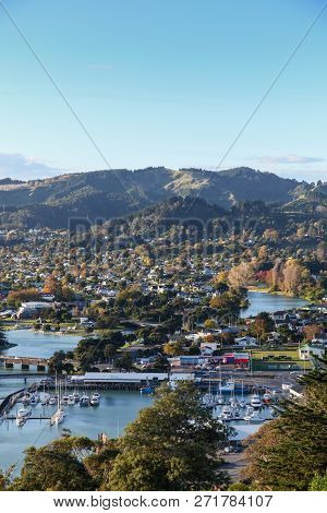 Gisborne Is A Scenic Regional Town Located On The East Coast Of The North Island Of New Zealand. The