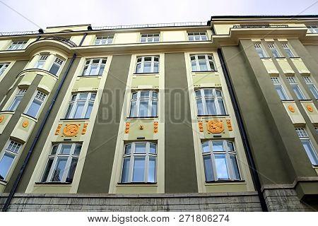 Kgb Prison Cells, Tallinn, Estonia. The Building Has Long Been A Symbol Of The Former Soviet Oppress